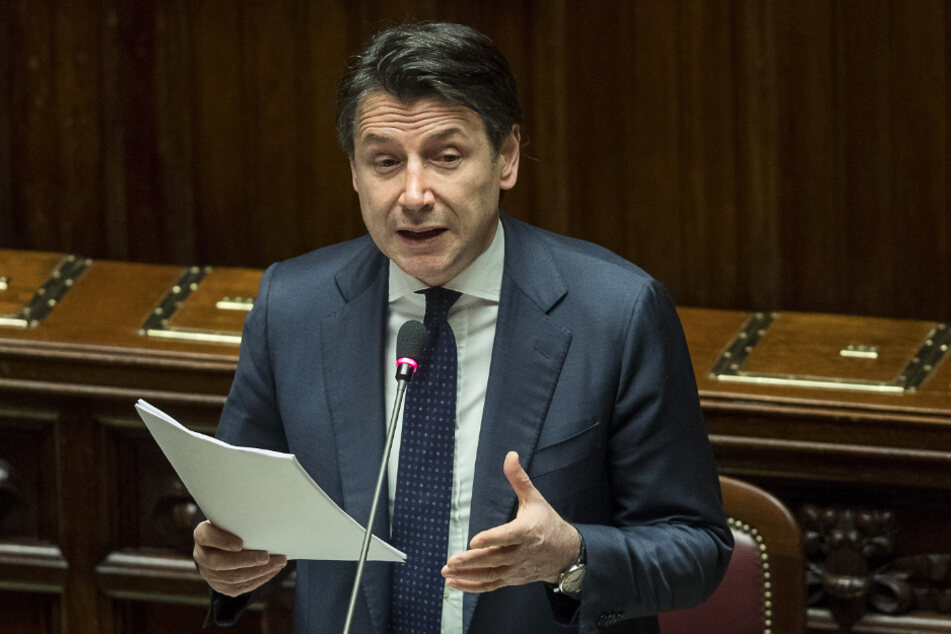 Italiens Ministerpräsident Giuseppe Conte (55).