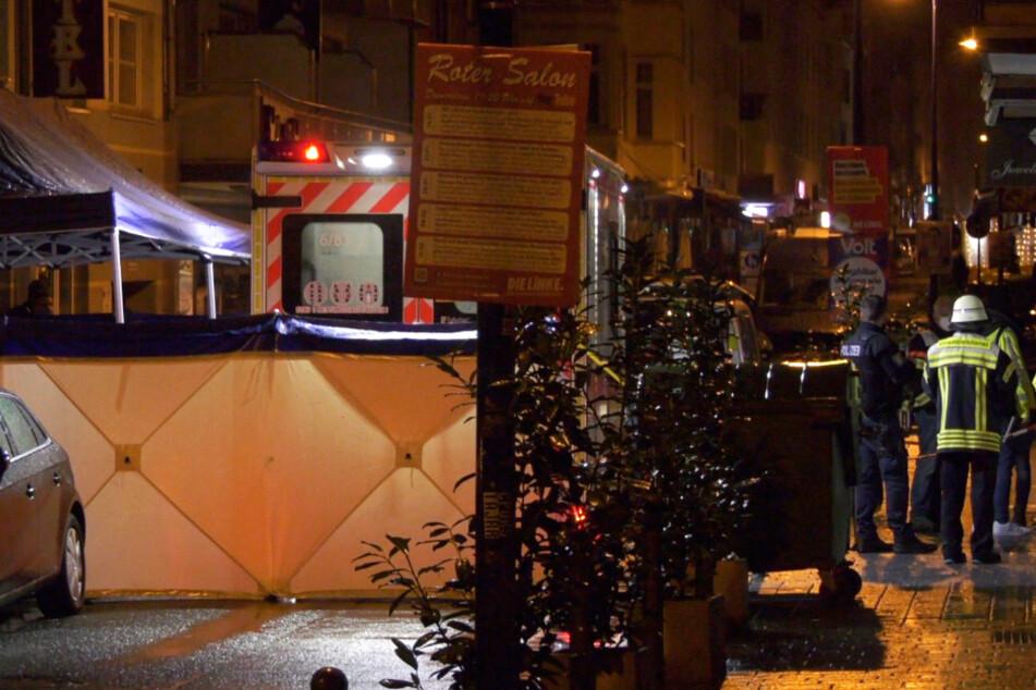 Die Schüsse fielen offenbar in der Wellritzstraße in Wiesbaden.