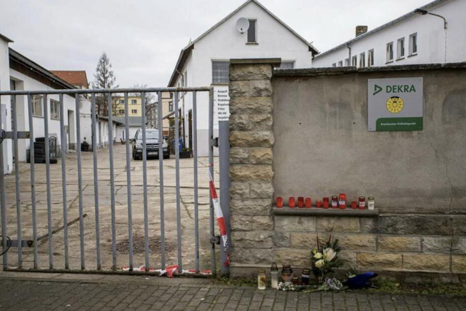 Auf dem Gelände der Kfz-Werkstatt des Opfers wurde sein Leichnam entdeckt. (Archiv)