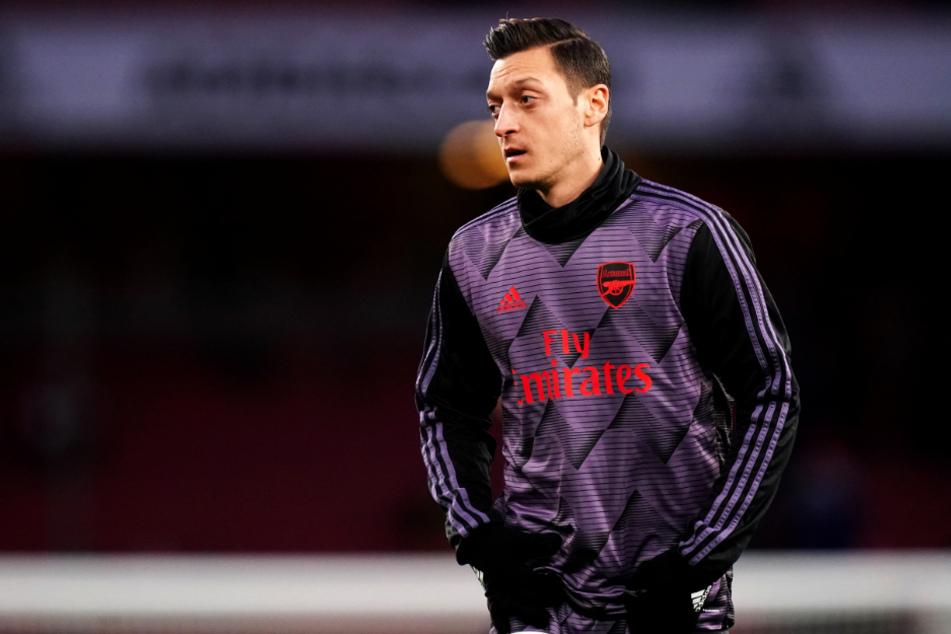 Mesut Özil (31) kam beim FC Arsenal London zuletzt gar nicht mehr zum Einsatz.