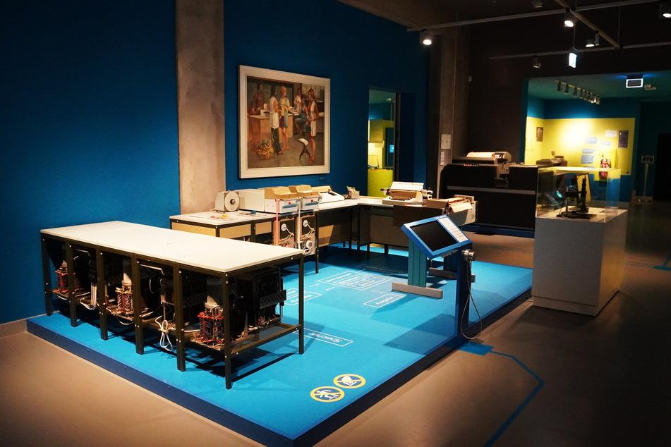 Der erste PC der Welt hieß D4a, sein Nachfolger - hier im Museum Hoyerswerda - C8205.
