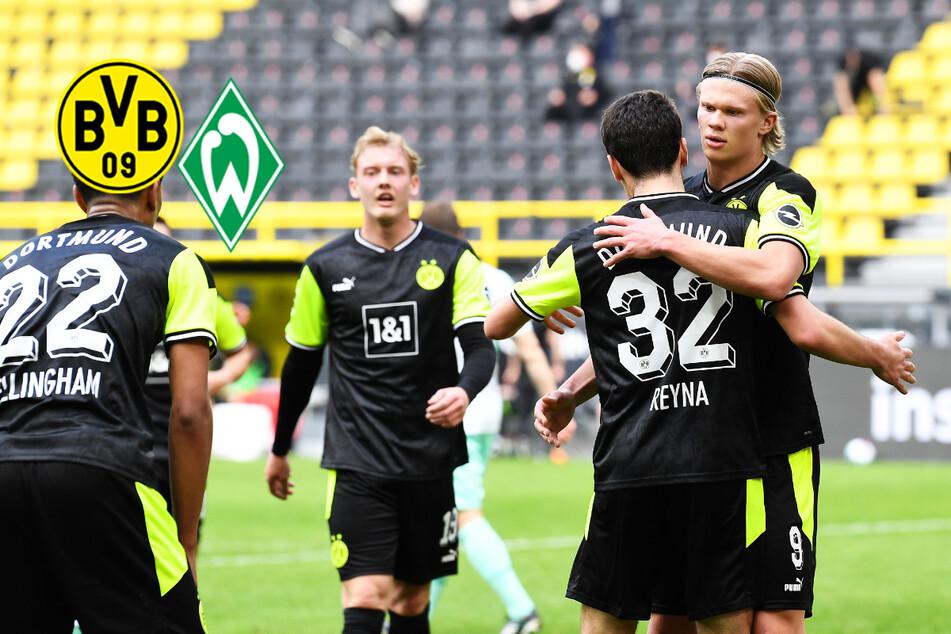 BVB-Star Haaland meldet sich nach Torflaute mit Doppelpack gegen Werder Bremen zurück!