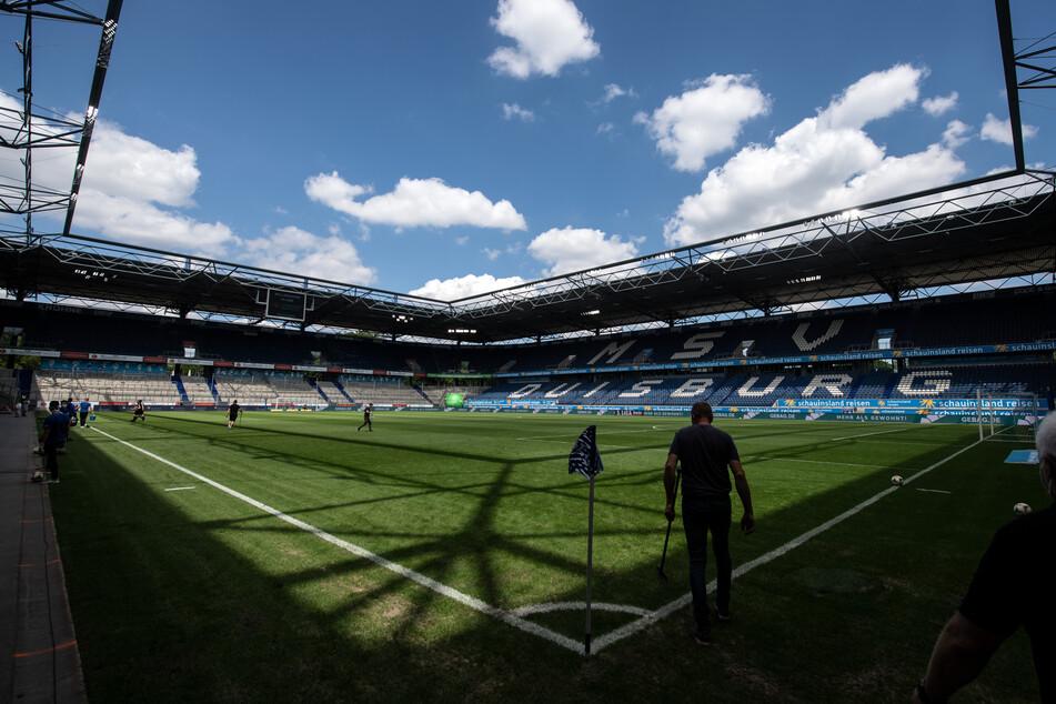Blick in die Schauinsland-Reisen-Arena von MSV Duisburg.