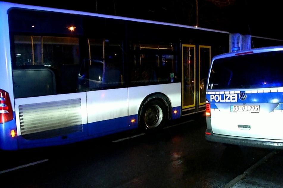 Für die evakuierten Bewohner wurde ein Bus der Görlitzer Verkehrsbetriebe (GVB) zur Verfügung gestellt.