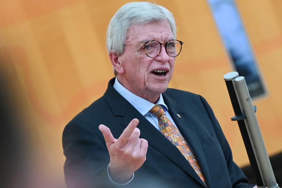 Hessens Ministerpräsident Volker Bouffier (69, CDU).