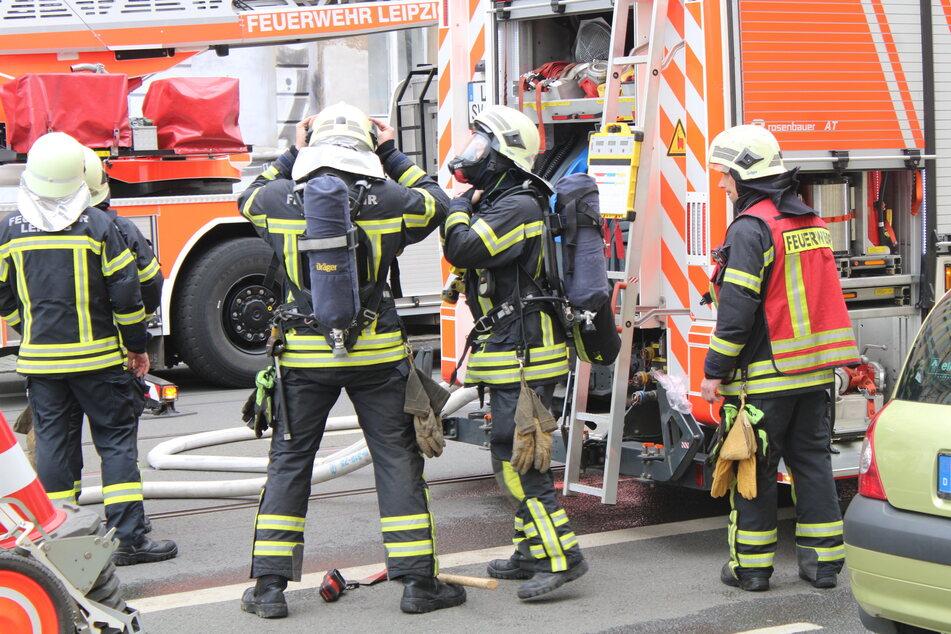 Zwei Verletzte bei Wohnhausbrand im Leipziger Osten