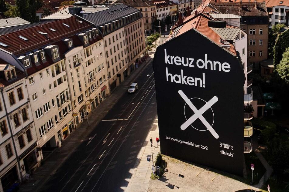 """""""kreuz ohne haken"""": Das steckt hinter dem Wahlslogan von fritz-kola"""