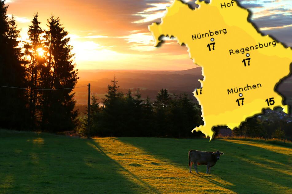 Sonnige 31 Grad in Bayern. Doch Starkregen, Hagel und Sturmböen vermiesen die Laune