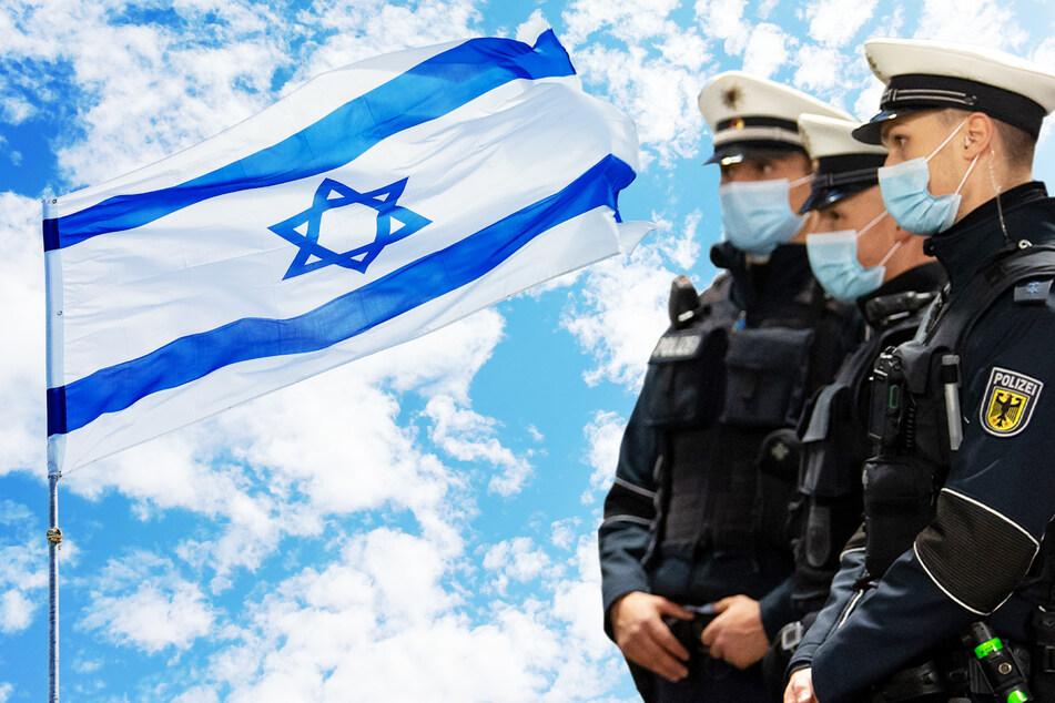 Dresden: Jugendlicher rastet in der Neustadt aus und will Israel-Flagge anzünden