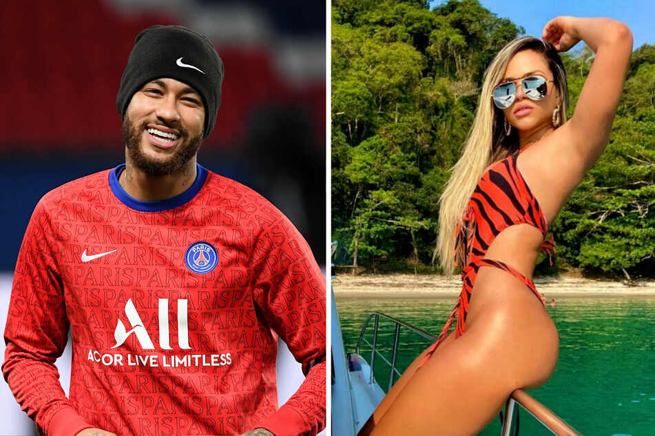 What is going on between Neymar (28) and Gabily (25)?