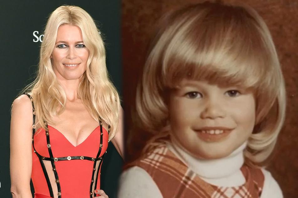 Die Frisur saß schon damals genauso perfekt wie heute: Claudia Schiffer wird 50!