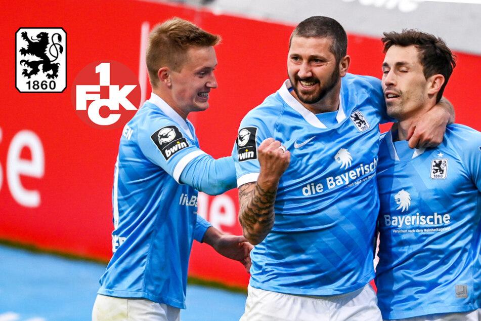 1860 zu stark für Kaiserslautern! Löwen nach Sieg mitten im engen Aufstiegsrennen
