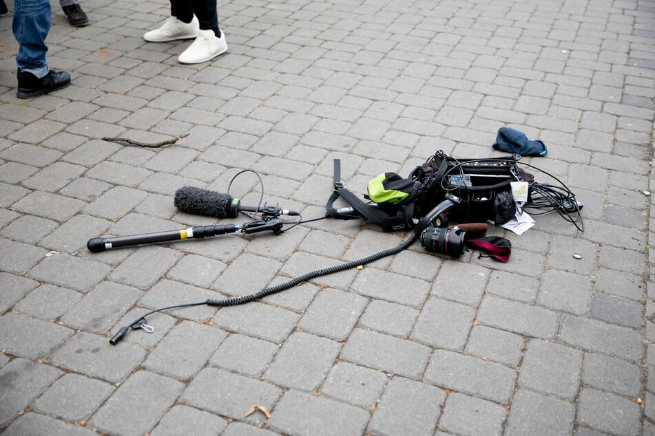 Berlin: Angriffe bei Demos auf Journalisten: Grundsätze für Polizei und Presse werden geprüft