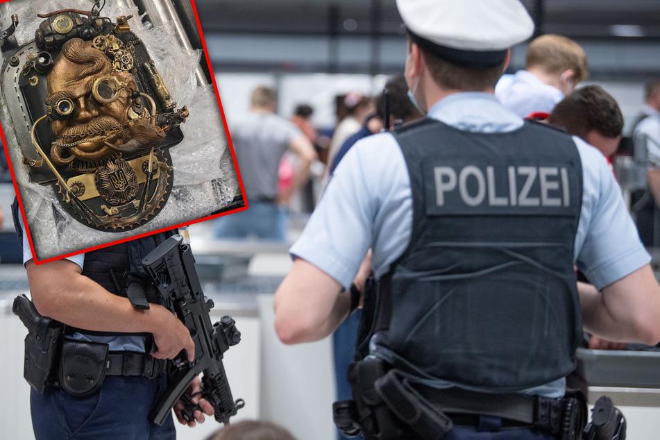 Das Gepäckstück sorgte letztlich dafür, dass der Entschärfungsdienst am Flughafen in Frankfurt am Main anrücken musste.