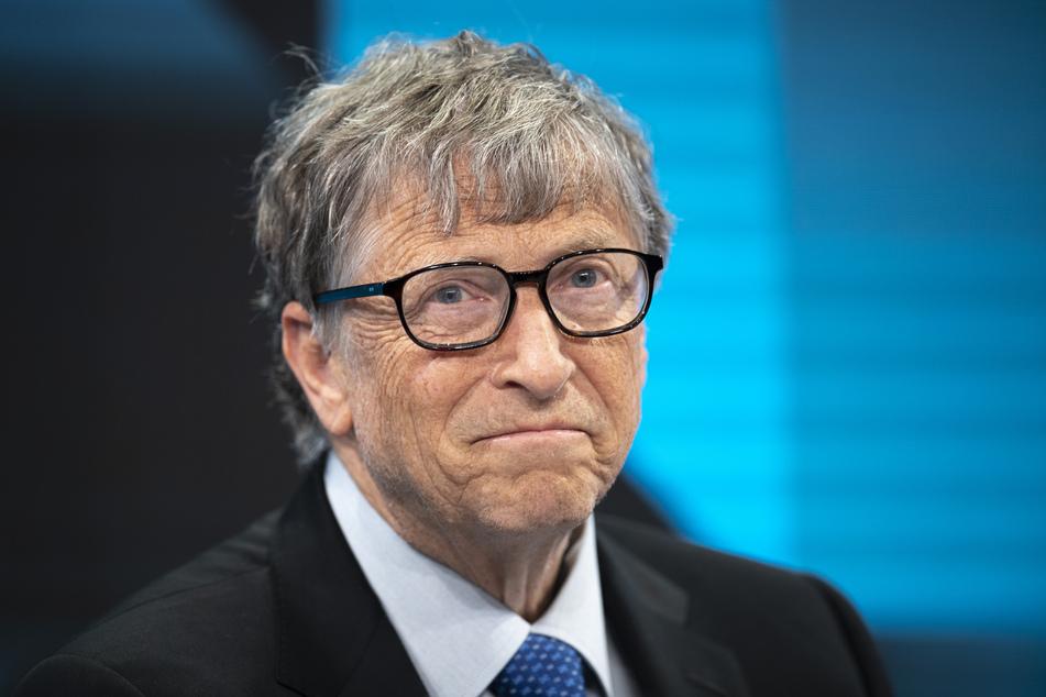 Bill Gates 2019 während einer Sitzung im Rahmen des Weltwirtschaftsforums in Davos (Schweiz).