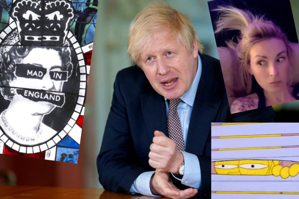 Boris Johnsons #StayAlert sorgt für jede Menge Spott auf Twitter