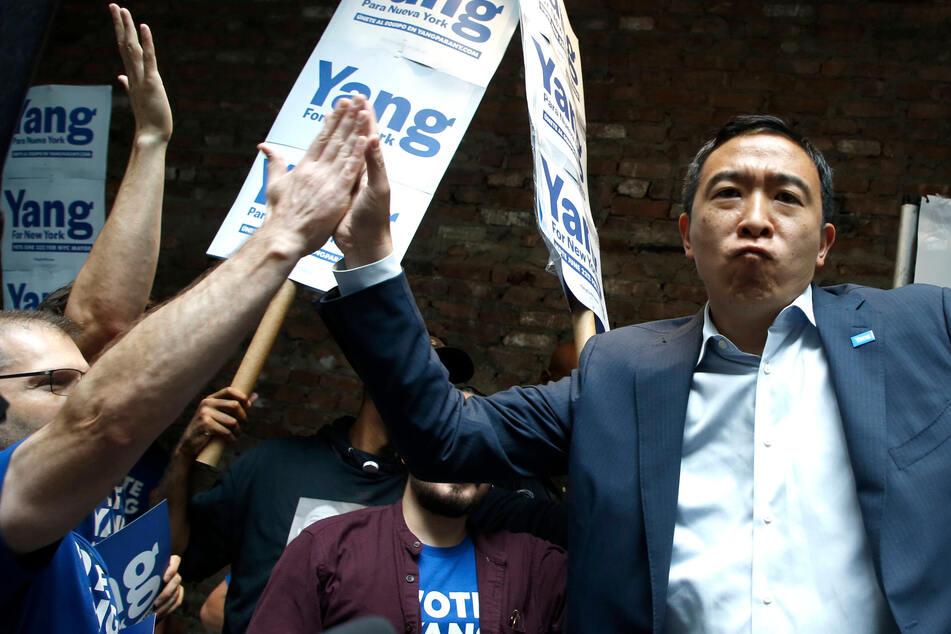 Is Andrew Yang planning to establish his own political party?