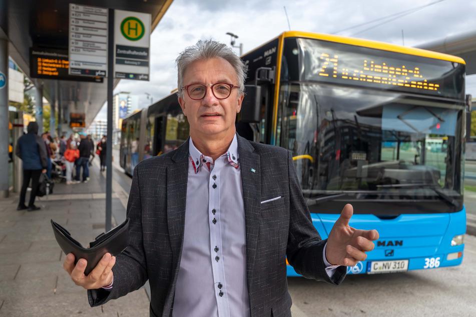 Stadtrat Steffen Wegert (64, AfD) sieht den plötzlichen Vorstoß der CVAG kritisch.