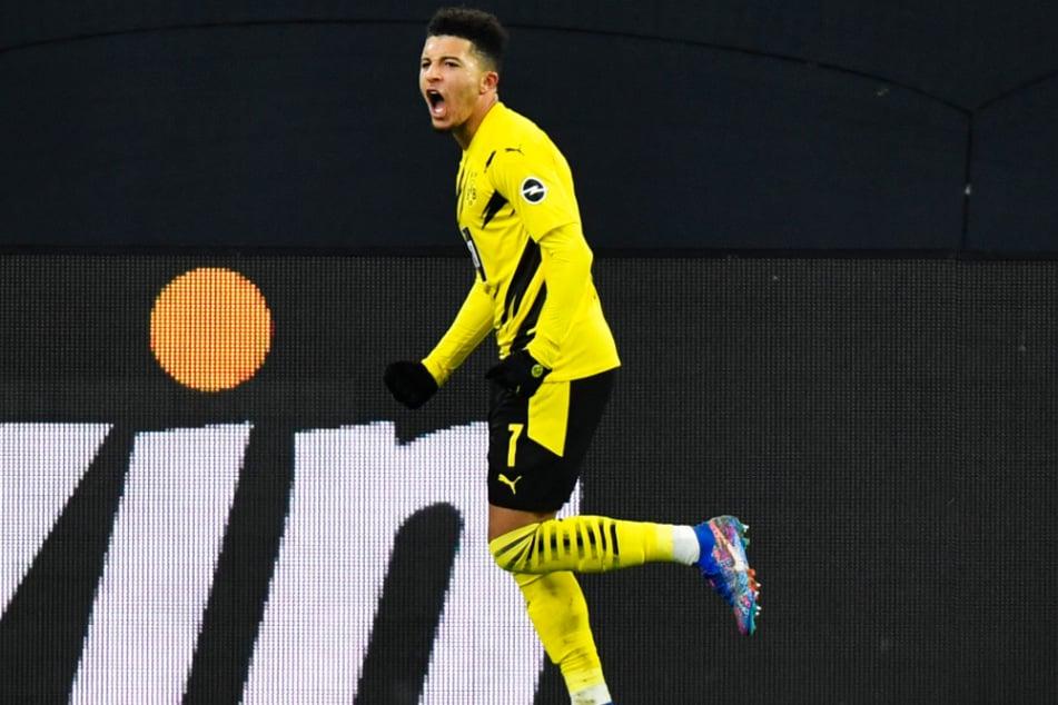 Jadon Sancho (20) traf in der laufenden Spielzeit in 22 Einsätzen bislang sechsmal und gab elf Vorlagen.