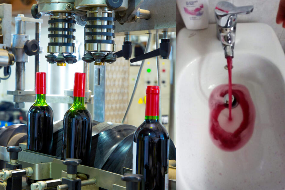 Italien gönnt sich: Statt Wasser fließt hier Rotwein aus den Leitungen!