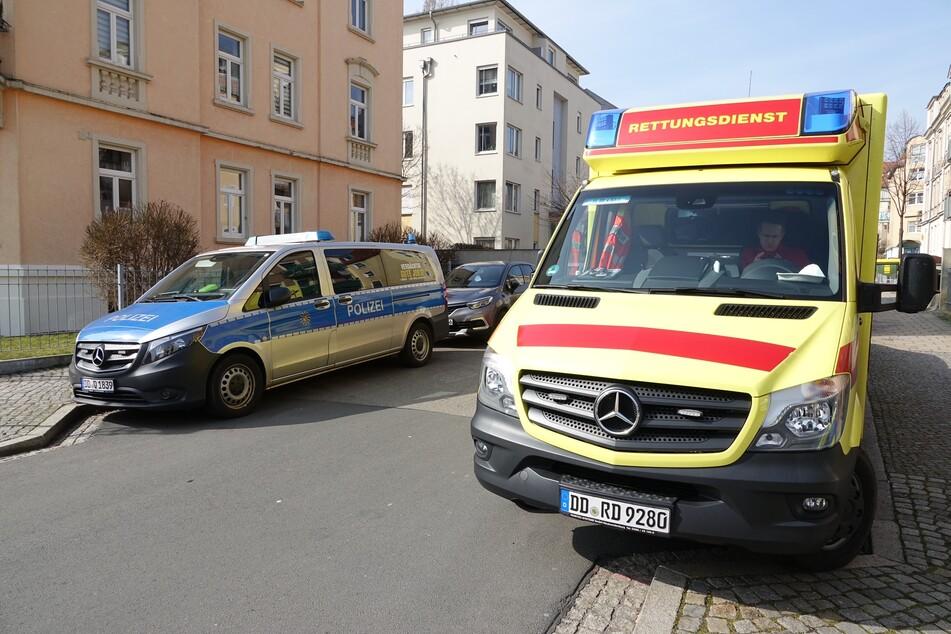 Polizei und Rettungsdienst waren vor Ort.