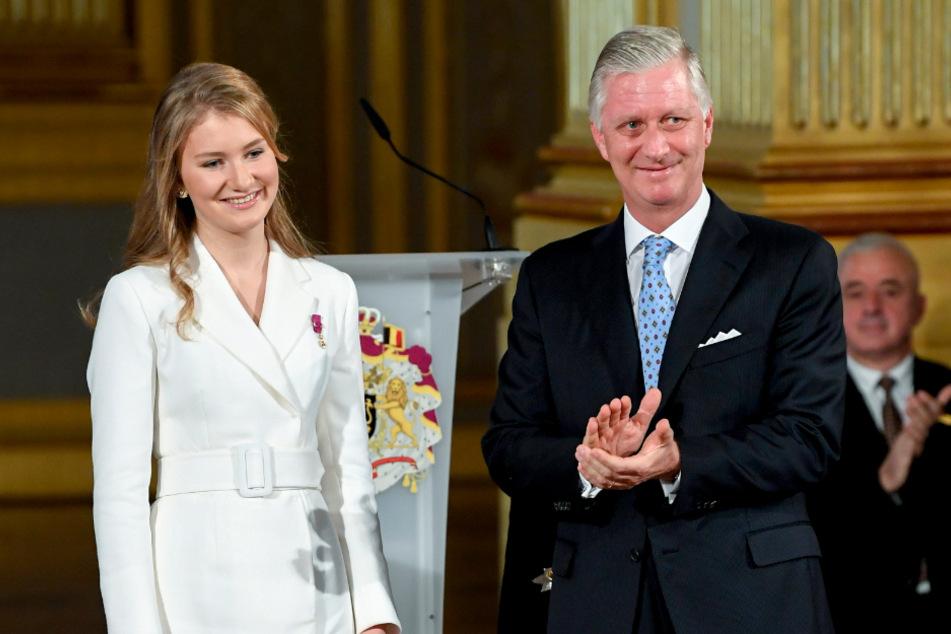 Nach ihrem Schulabschluss wartete auf Prinzessin Elisabeth (19), Tochter von König Philippe (60), eine neue Herausforderung.