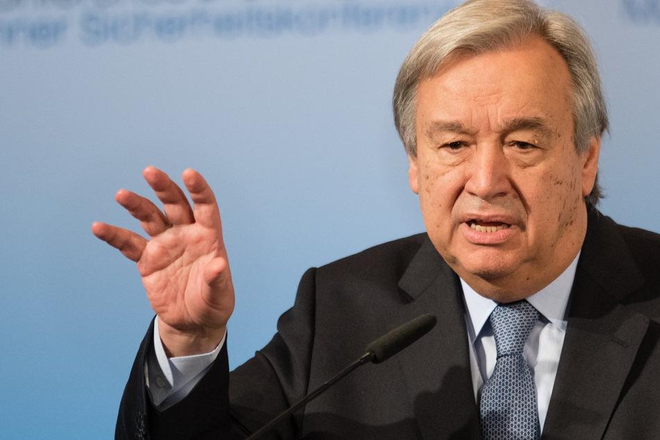 UN-Generalsekretär António Guterres (71). (Archivbild)