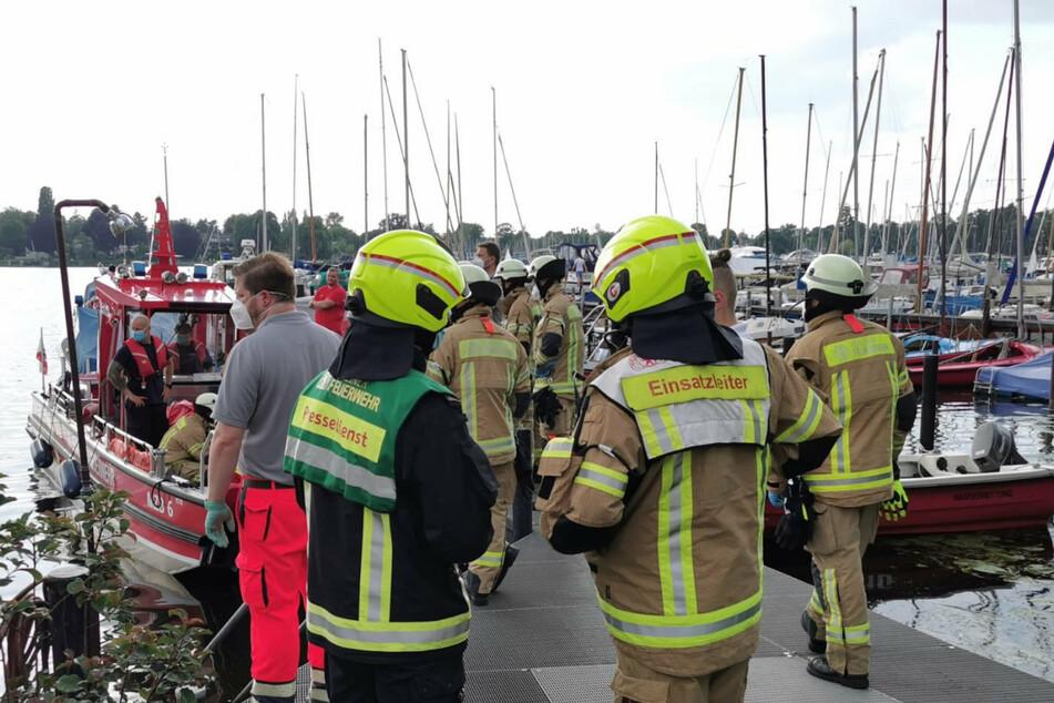 Berlin: Tragischer Badeunfall: Mann in Scharfer Lanke in Spandau ertrunken