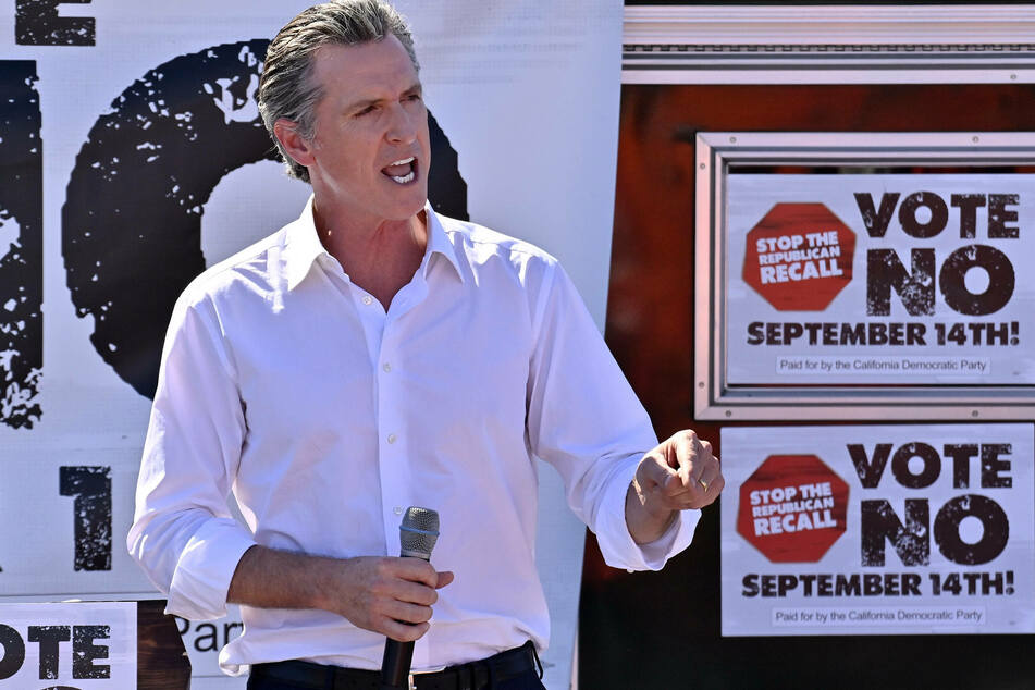 After a few weeks where the race looked close, California Governor Gavin Newsom is pulling away with a healthy lead in the polls.
