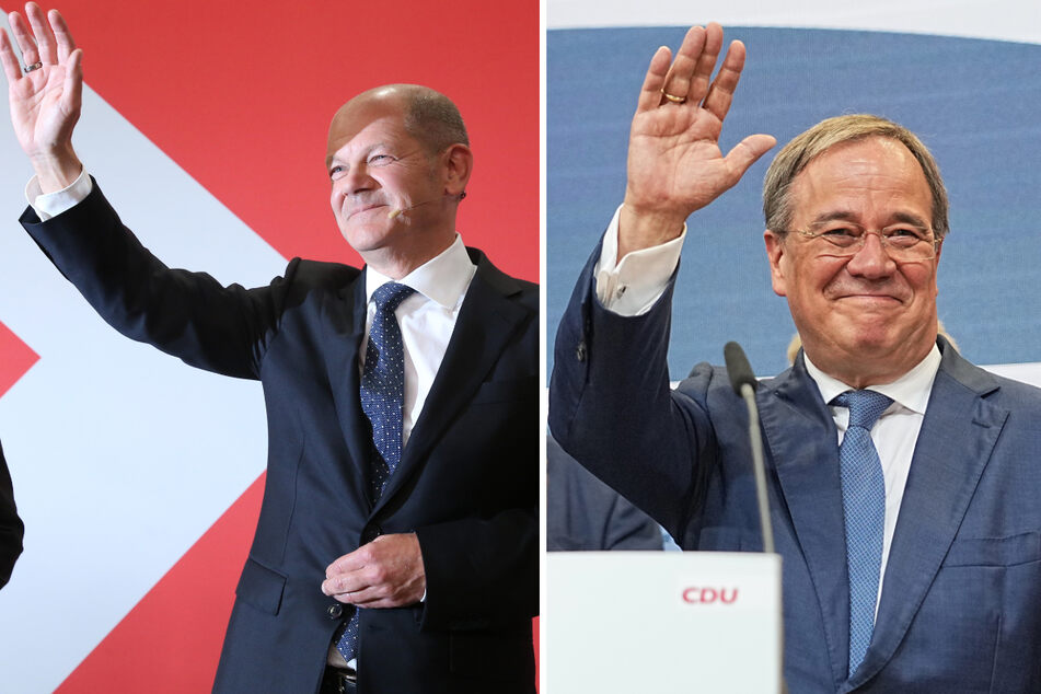 Wer wird Kanzler? Scholz und Laschet beanspruchen Regierung für sich