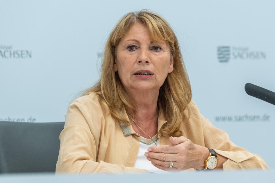 Stellte gestern die neuen Corona-Regeln vor: Sozialministerin Petra Köpping (61, SPD).