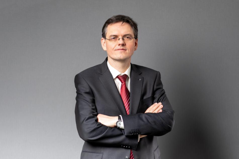 Jürgen Schmidt, Oberstaatsanwalt und Sprecher der Staatsanwaltschaft Dresden.