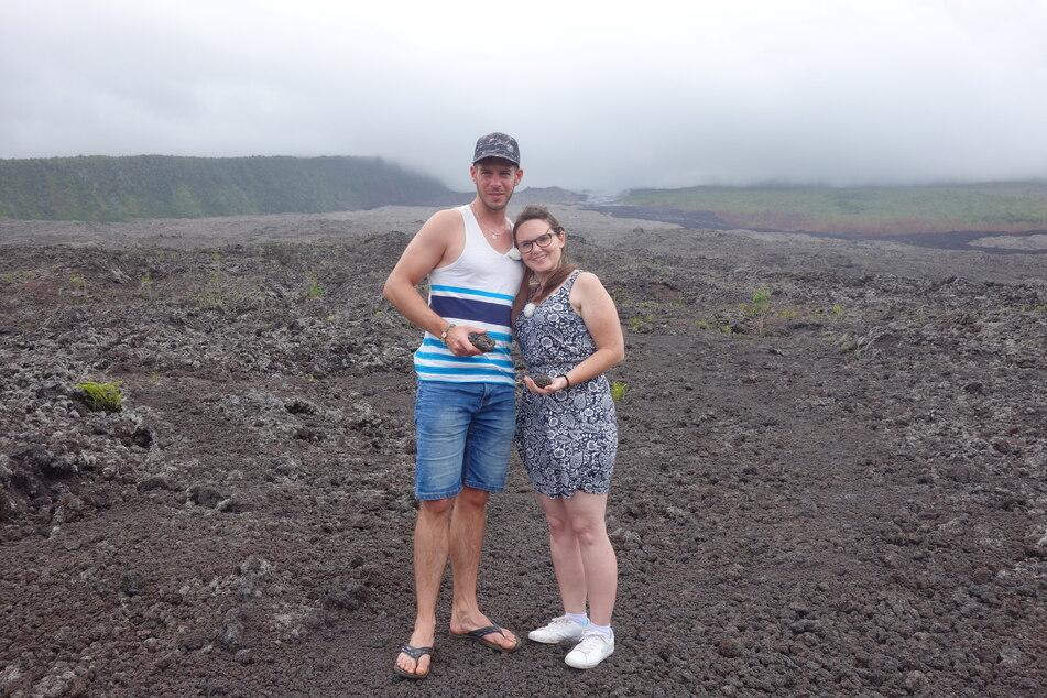 Verrückt nach Meer: Die Passagiere Dani und Nico wagen sich auf einen der aktivsten Vulkane der Welt.
