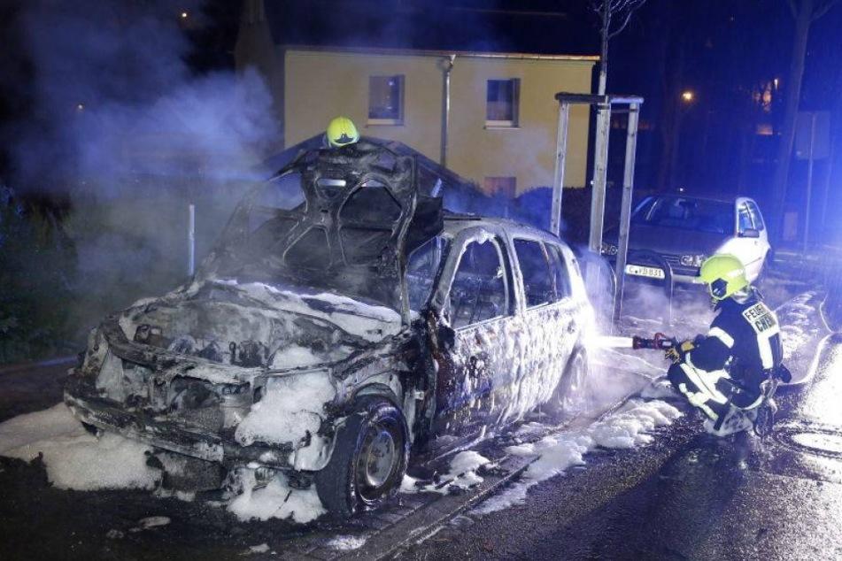In Chemnitz brennen wieder Autos