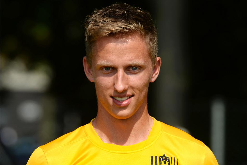 Paul Milde (26) wurde von 2010 bis 2015 bei Dynamo Dresden ausgebildet und kam dreimal für die Profis zum Einsatz.