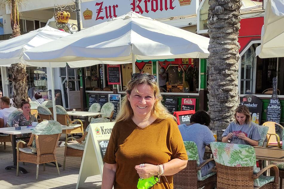 Die Schweizerin Beatrice Ciccardini leitet in Palma auf Mallorca die Bar «Zur Krone». Sie fürchtet nicht, dass die Urlauber aus Deutschland nun wegbleiben.