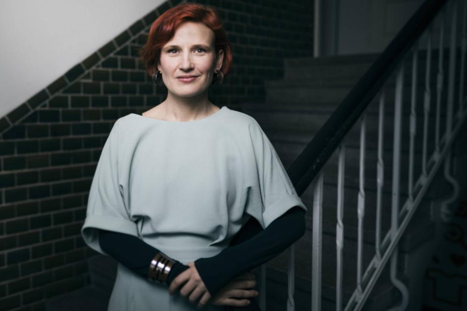 Katja Kipping ist Vorsitzende der Partei Die Linke. Die Dresdnerin will im kommenden Jahr wieder in den Bundestag einziehen und dort Brücken bauen für eine Mehrheit links der CDU.
