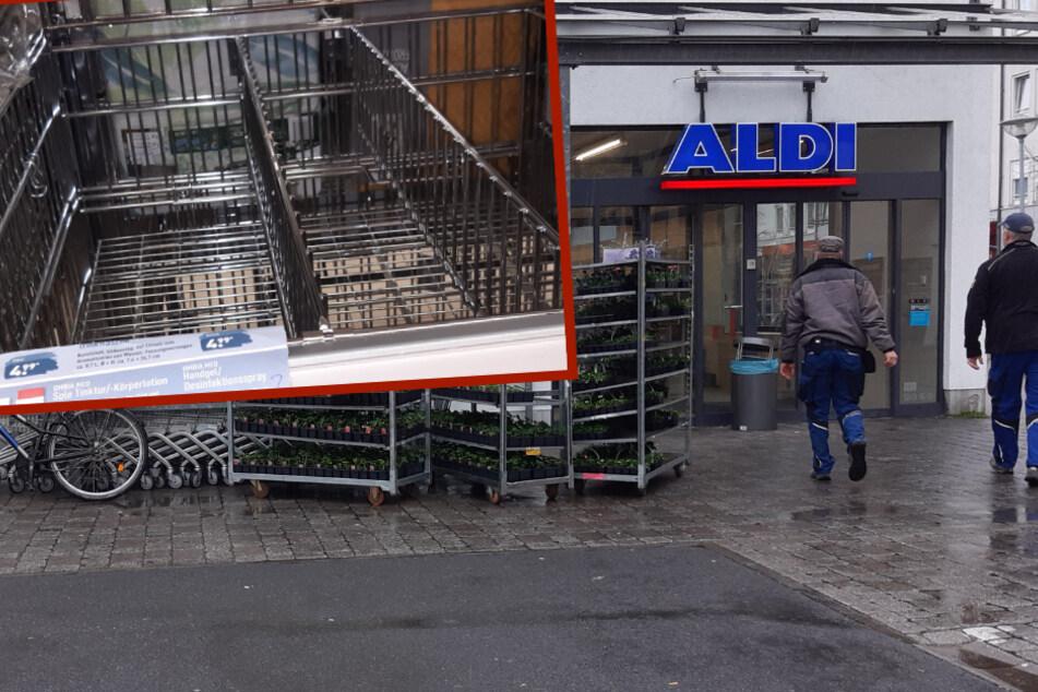 Hamsterkäufe gehen weiter: Kunden stürmen Leipziger ALDI wegen Desinfektionsmitteln