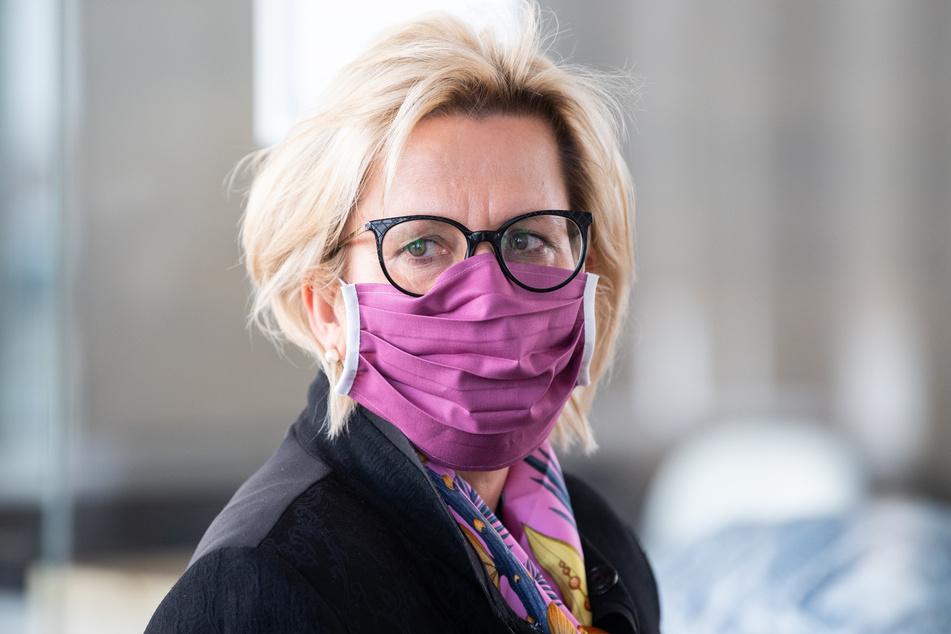 Barbara Klepsch (55, CDU), Ministerin für Kultur und Tourismus in Sachsen.