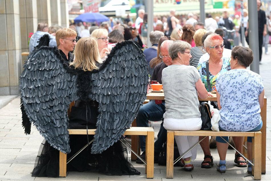 Tausende Besucher werden jährlich zum WGT in Leipzig erwartet.