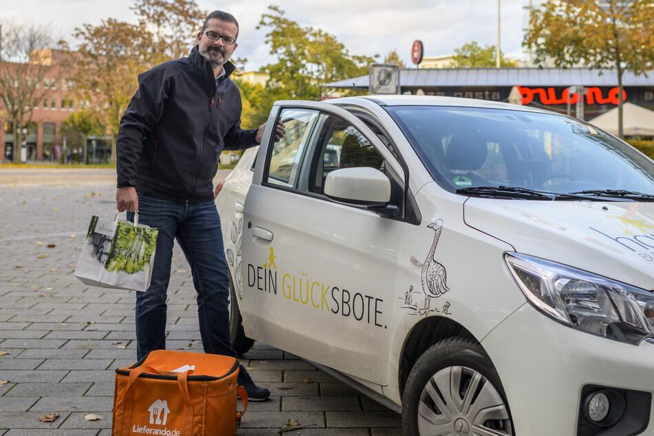 """Rene Richter (40) vom """"Hans im Glück"""" ist auf Restaurant-Essen per Lieferdienst eingestellt."""
