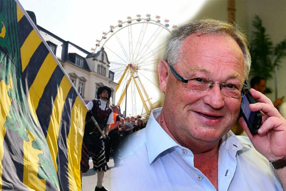 """Chemnitz: Wegen Vollmond! Frankenbergs Bürgermeister verschiebt """"Tag der Sachsen"""""""