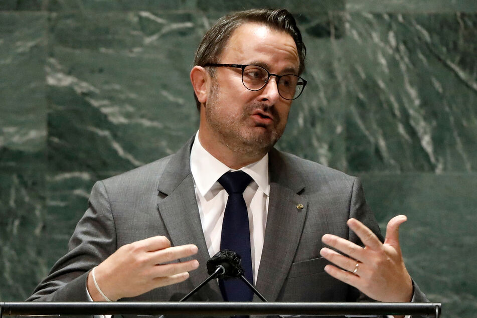 Luxemburgs Premierminister Xavier Bettel (48).