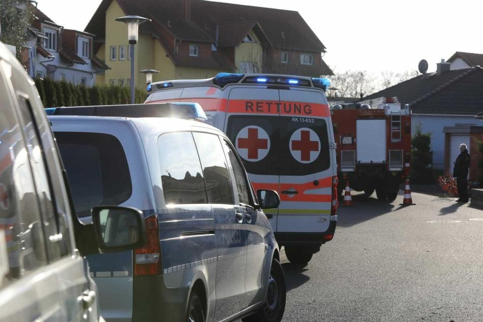 Zu der Gewalttat kam es am Mittwochmittag in der Großen Wallstraße in Delitzsch (Landkreis Nordsachsen).