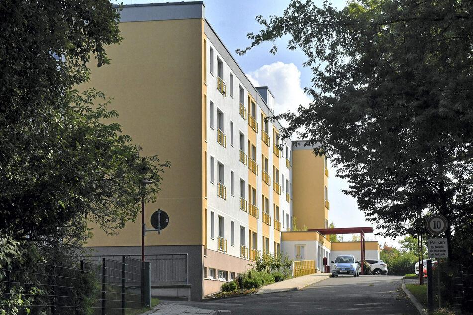 """Im Zwickauer Pflegeheim """"Stadtblick"""" fand die Seniorin ihren Tod."""