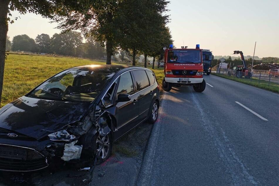 Eine Ford-Fahrerin geriet am Mittwochmorgen auf der S230 in den Gegenverkehr.