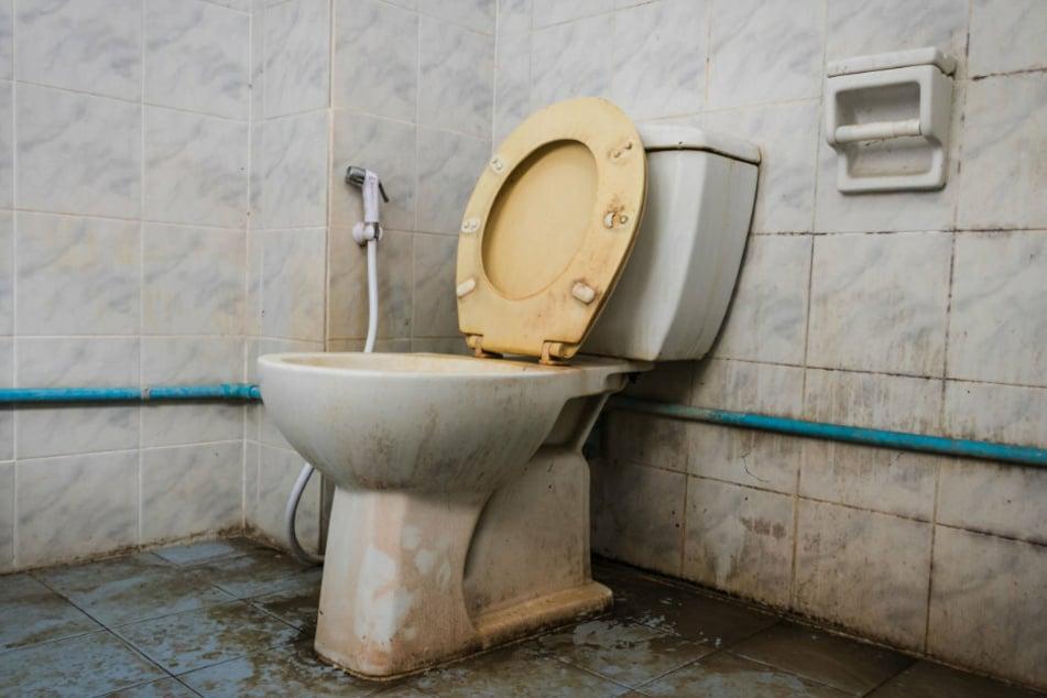 Auf einer völlig verdreckten Toilette wurde die 35-jährige Inderin über ein Jahr lang eingesperrt. (Symbolbild)
