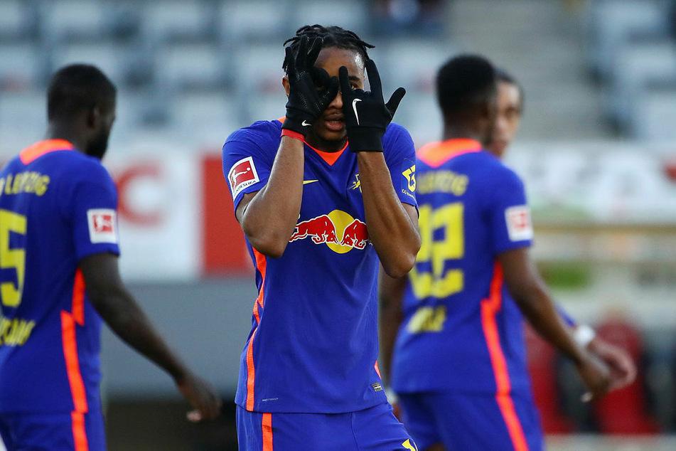 Christopher Nkunku erzielte beim SC Freiburg seinen sechsten Ligatreffer und ist jetzt Top-Torschütze der Roten Bullen.