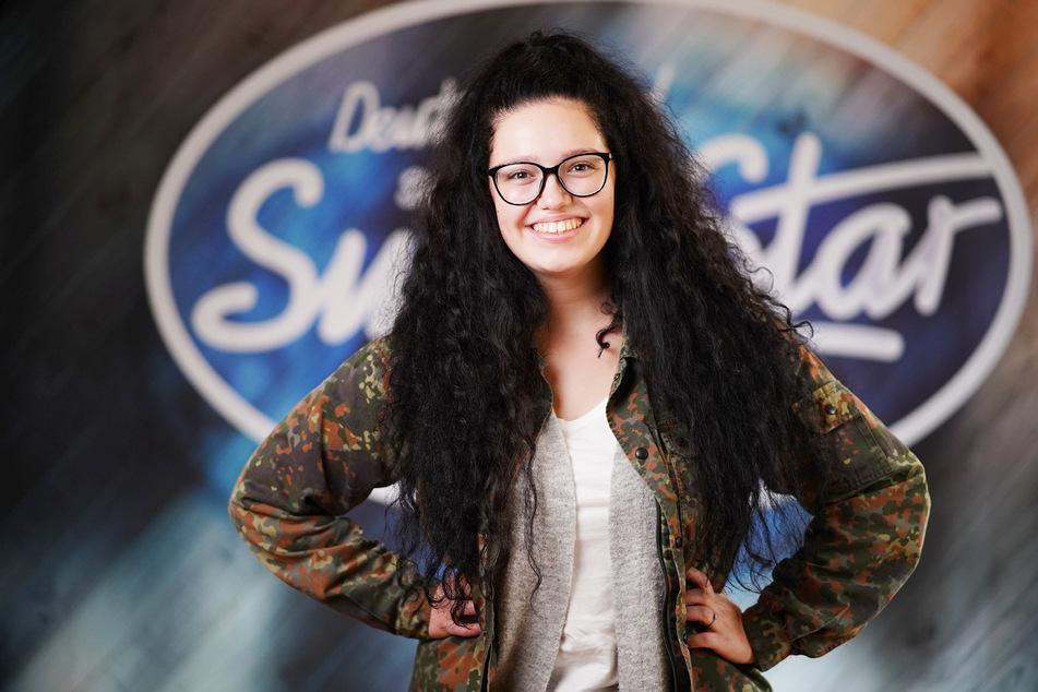 Auf dem Weg zum Superstar: Lena-Loreen Kürschner (20) steht heute Abend wieder vor der DSDS-Jury.