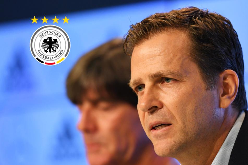 """DFB-Manager Bierhoff zu möglicher Löw-Nachfolge: """"Man hört sich um"""""""